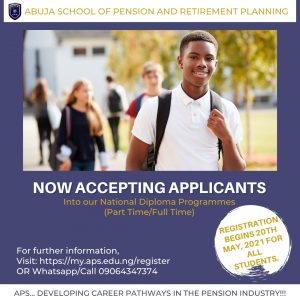 Abuja Pension School Part Time Admission